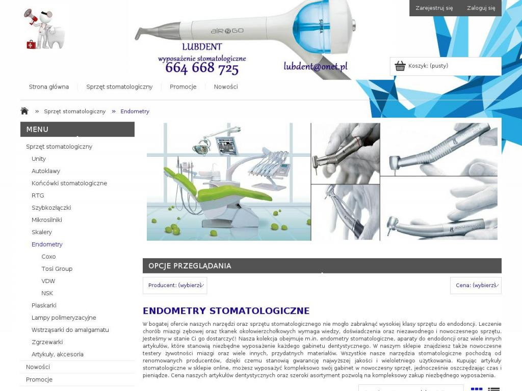 http://www.lubdent.com.pl/endometry-stomatologiczne
